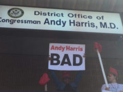"DCMJ ""Overdose"" at Rep. Andy Harris' Office (DC) October 2 2018"