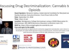 Drug Decriminalization: Cannabis to Opioids by Baltimore Harm Reduction Coalition (MD) September 15 2018