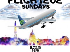 Flight 202 Sundays by Mamajuana Edibles (DC) September 23 2018