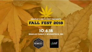 People's Unity Fest presents Fall Fest 2018 (MD) October 6 2018
