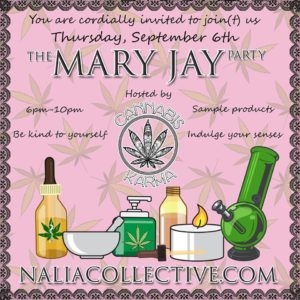 The Mary Jay Party Hosted by Cannabis Karma (DC) September 6 2018