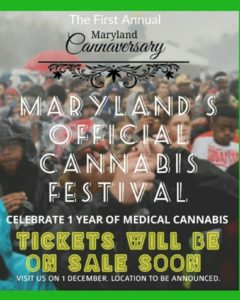 The Maryland Cannaversary (MD) December 1 2018
