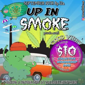 Up In Smoke Hosted by Cannabis Karma (DC) September 10 2018