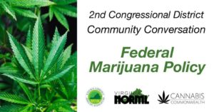 VA 2nd Congressional District Cannabis Conversation (VA) October 3 2018