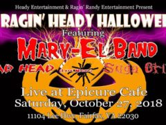 A Ragin' Heady Halloween (VA) October 27 2018