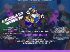 CannaKarts Race to Dust off Domestic Violence Hosted by GI Mary Jane (DC) November 2 2018