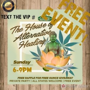 Capital Remedy presents the House of Alternative Healing (DC) October 21 2018