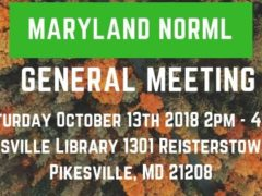 Maryland NORML General Meeting (MD) October 13 2018