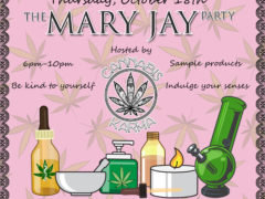The Mary Jay Party hosted by Cannabis Karma (DC) October 18 2018
