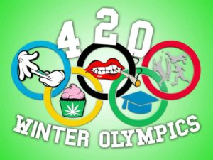 The 2018/19 420 Winter Olympics by Gifts From The Earth, Inc (DC) February 9 2019