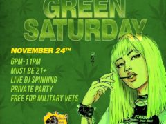 Blissful Budz Green Saturday Hosted by Trichome Honey Concepts (DC) November 24 2018