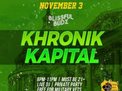 Blissful Budz Kronik Kapital (DC) November 3 2018