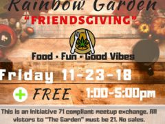 Georgetown's Rainbow Garden Friendsgiving (DC) November 23 2018