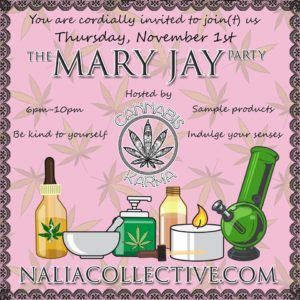The Mary Jay Party Hosted by Cannabis Karma (DC) November 1 2018