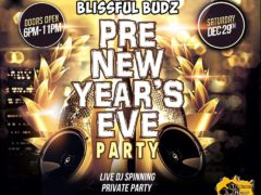 Blissful Budz Pre New Year Party Hosted by Trichome Honey Concepts (DC) December 29 2018