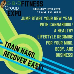 CBD Group Healthy Body and Business expo (DC) January 19 2018