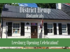 District Hemp Leesburg Opening Celebration! (VA) December 15 2018