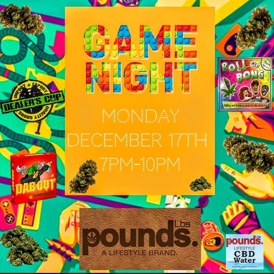 Game Night DC (DC) December 17 2018