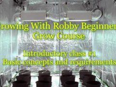 Growing With Robby! Beginners Grow Course. Introductory Class #1 (DC) January 6 2019