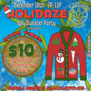 Holidaze Hosted by Cannabis Karma (DC) December 10 2018
