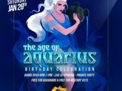 Blissful Budz Aquarius Bday Bash (DC) January 26 2019