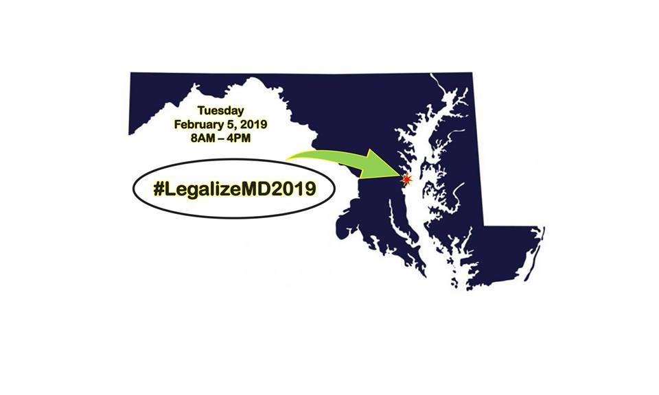 Cannabis Legalization Lobby Day! Hosted by Maryland NORML (MD) February 5 2019
