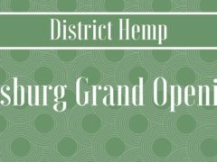 District Hemp Botanicals Leesburg Grand Opening (VA) January 25 2019