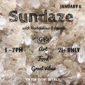 Sun Daze Farmers Market Hosted by Herbaceous DC (DC) January 6 2019