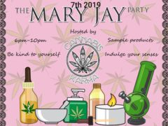 The Mary Jay Party Hosted by Cannabis Karma (DC) January 7 2019