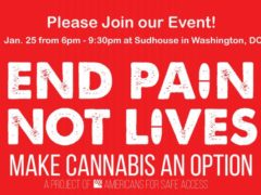 End Pain, Not Lives National Event by Americans for Safe Access (DC) January 25 2019