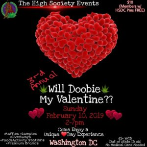 3RD ANNUAL: WOULD YOU DOOBIE MY VALENTINE by The High Society Events DC (DC) February 10 2019