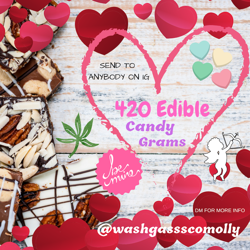 420 Edible Candy Grams by Washington Gasss Company