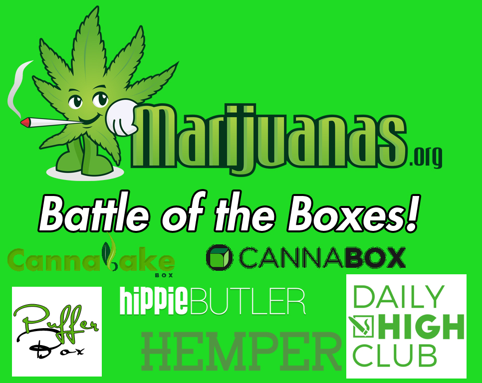 Battle Of Marijuana Monthly Subscription Boxes
