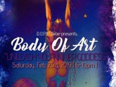 Body Of Art Unleash Your Inner Goddess by Dope DC Creates Events (DC) February 23 2019