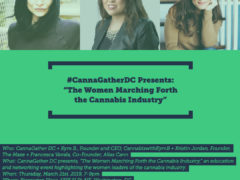 CannaGather presents The Women Marching Forth the Cannabis Industry (DC) March 21 2019