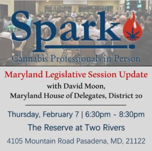 Maryland Legislative Update with David Moon by Spark MD (MD) February 7 2019