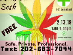 Rasta Sesh hosted by Washington Gasss Company (DC) February 13 2019