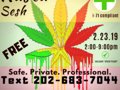 Rasta Sesh hosted by Washington Gasss Company (DC) February 23 2019
