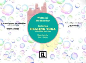 The Labs Wellness Wednesday Healing Yoga (MD) March 6 2019