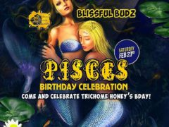 Trichome Honey Concepts hosts Blissful Budz Pisces Bday Bash (DC) February 23 2019
