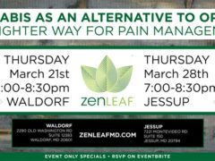 Cannabis As An Alternative To Opioids (Waldorf) by Zen Leaf (MD) March 21 2019