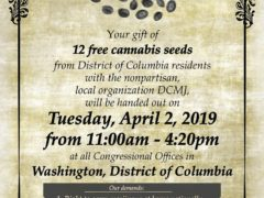 Congressional Seed-In Hosted by DCMJ (DC) April 2 2019