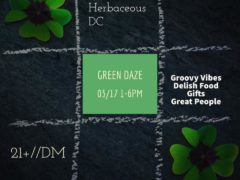 Green Daze @ The Farmer's Market (DC) March 17 2019