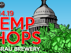 Hemp & Hops at DC Brau by National Cannabis Festival (DC) April 14 2019