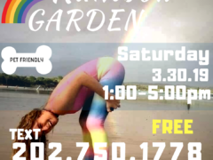 Rainbow Garden Sesh with Washington Gasss Company (DC) March 30 2019
