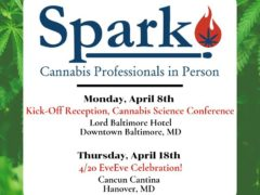 Spark Kick Off Reception for Cannabis Science Conference (MD) April 8 2019