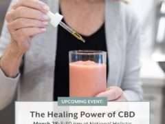 The Healing Power of CBD hosted by National Holistic (DC) March 28 2019