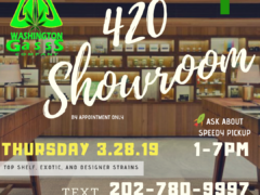 Washington Gasss Company Presents 420 Showroom (DC) March 28 2019