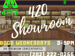 Washington Gasss Company presents 420 Showroom (DC) March 5 2019