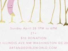Art & Edible World Sunday Funday (DC) April 28 2019